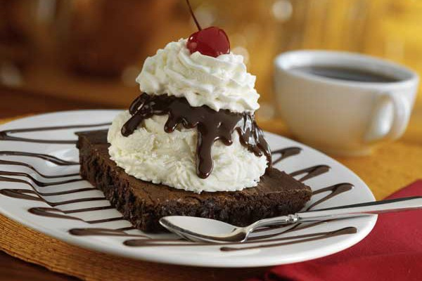 Brownie Bottom Pie