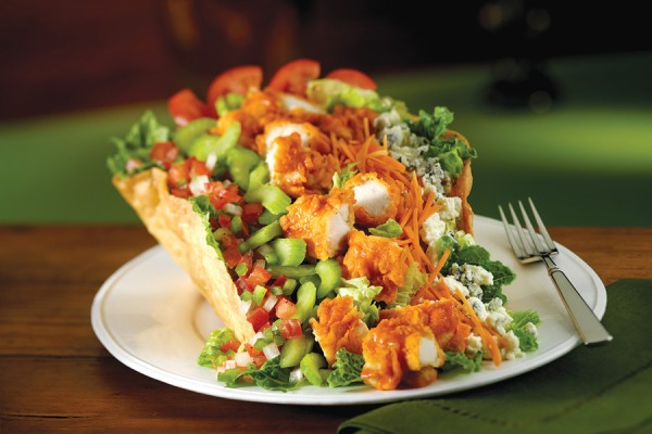 Ultimate Buffalo Chicken Salad