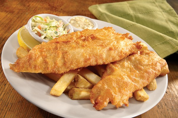Finn's Beer-Battered Fish and Chips